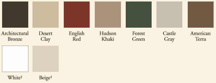 Customize your Colorado Springs windows and doors with our luxurious color collection