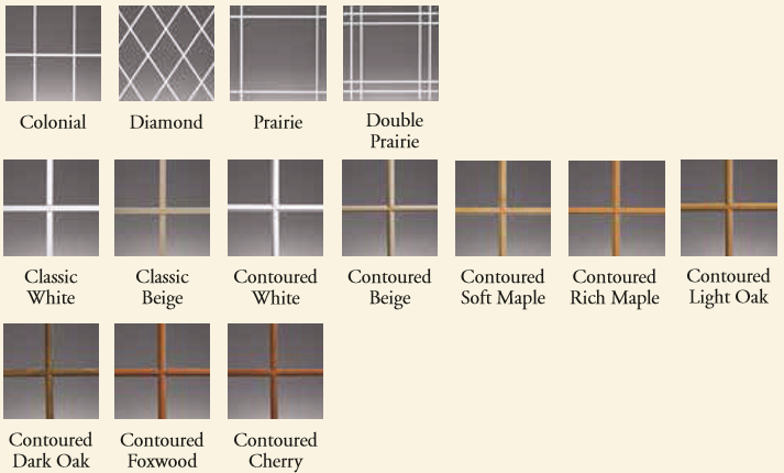 Grid Options for your Colorado Springs windows and doors