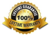 100% Lifetime Guarantee and Lifetime Warranty on our Service at Pikes Peak Windows and Doors in Colorado Springs